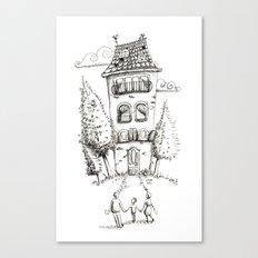 Big House Canvas Print