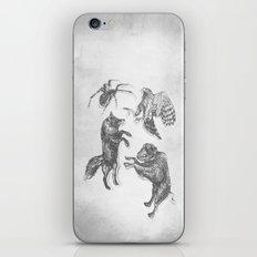 Paper Dance iPhone & iPod Skin