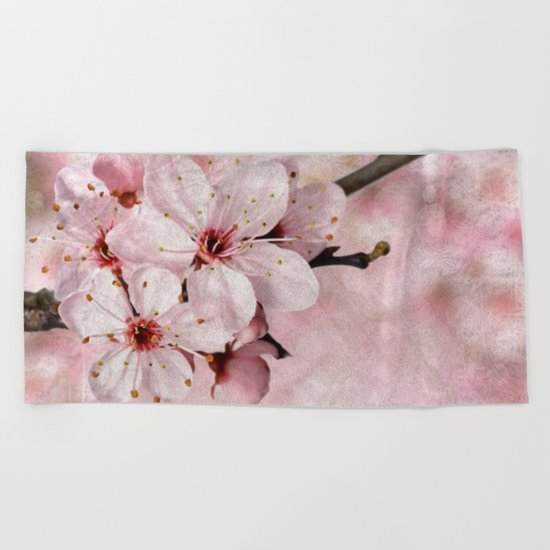 Cherry Blossom #2 Beach Towel