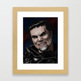 Dru-Zod Framed Art Print