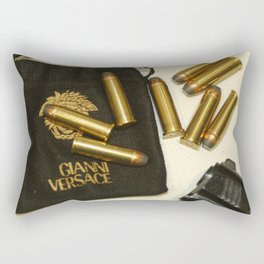 Versace Bullets Colt Rectangular Pillow
