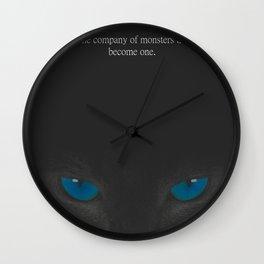 Take No Prisoners Quote Wall Clock
