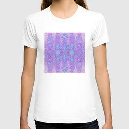 Lavender Dreams Abstract T-shirt