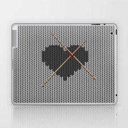Original Knitted Heart Design Laptop & iPad Skin
