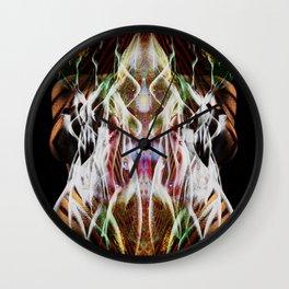 Sagg-Unicorn  abstract art Wall Clock