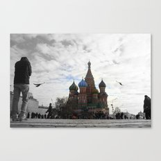 St. Basil's Cathedreal Canvas Print