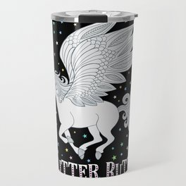 Glitter Butt! Travel Mug