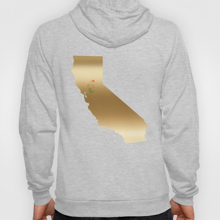 California Gold with State Flower Hoody