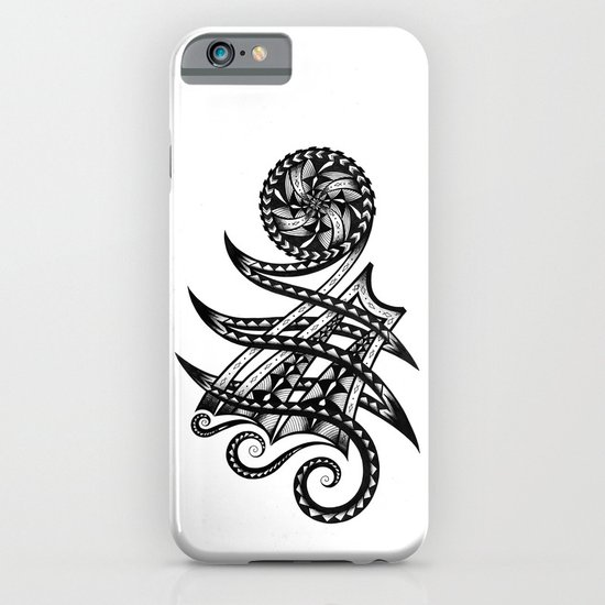 Shoulder Band Tattoo iPhone & iPod Case