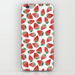 Strawberry Love iPhone Skin