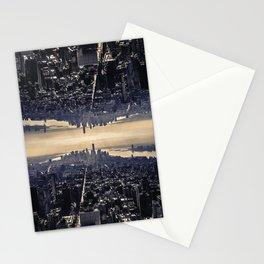 Upside Manhattan Stationery Cards