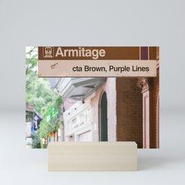 Lincoln Park Armitage Mini Art Print