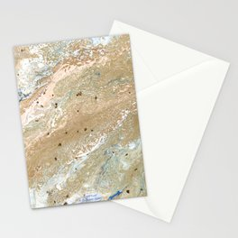 Sea of Gold Stationery Cards