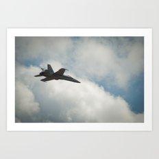 Swiss Airforce F-18 Hornet #2 Art Print