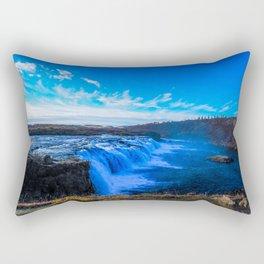 Waterfall. Rectangular Pillow