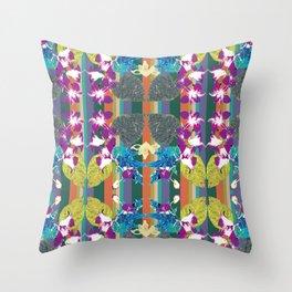 Exotical flora Throw Pillow