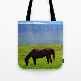 Kamuela Countryside with Mauna Kea Tote Bag