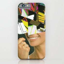 the disaster in her face 1 iPhone Case