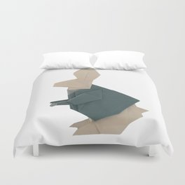 The Rab origami Duvet Cover