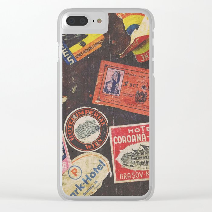 AROUND THE WORLD Clear iPhone Case