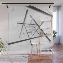 Infinite Geometry Wall Mural