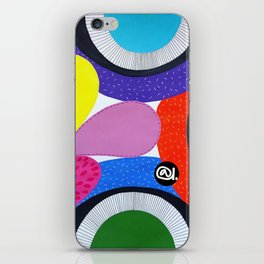 CRAZY COLORFUL iPhone Skin
