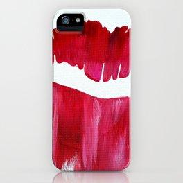 Hot Lips iPhone Case