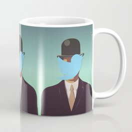 The Man with the Bowler Hat Coffee Mug