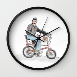 Tom Selleck Wall Clock
