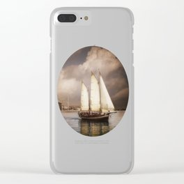They've All Come To Look For America Clear iPhone Case