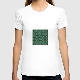 Cubed Geometrical Pattern T-shirt