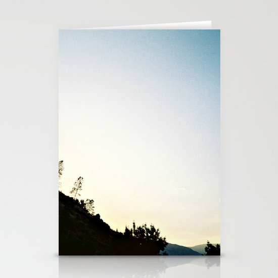 Mountain Dusk Stationery Cards