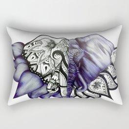Mandelephant Rectangular Pillow