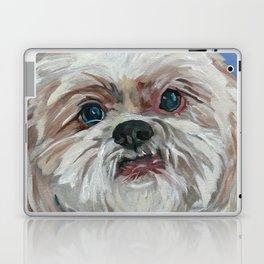 Ruby the Shih Tzu Dog Portrait Laptop & iPad Skin