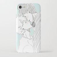 haikyuu iPhone & iPod Cases featuring Kagehina Haikyuu!! by Pruoviare