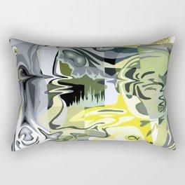 Liquified World Rectangular Pillow