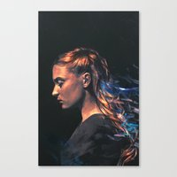 sansa Canvas Prints featuring Amethyst by Alice X. Zhang