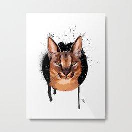 caracal Metal Print