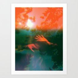 Infra-red Art Print
