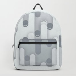 Melt abstract rounded art Backpack