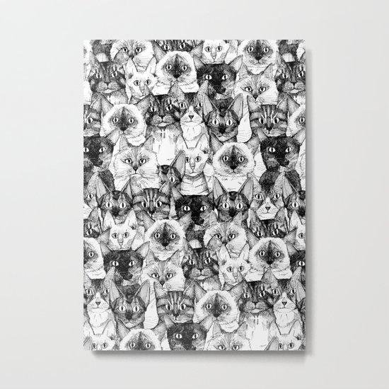 just cats Metal Print