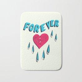 Forever HeartBroken Bath Mat