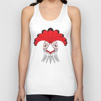cock Tank Tops featuring Cock by HandeAylan