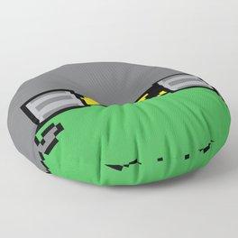 Teenage Mutant Ninja Pixels Floor Pillow