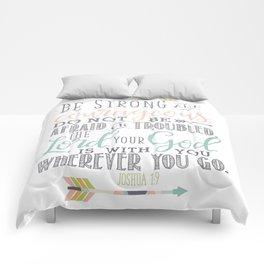 Joshua 1:9 Bible Verse Comforters