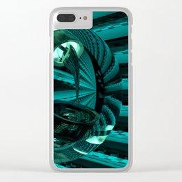 Skorpio Searching Clear iPhone Case