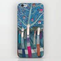 central park iPhone & iPod Skins featuring Central Park by kürtiandi