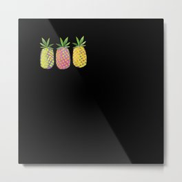 Pineapple crush Metal Print