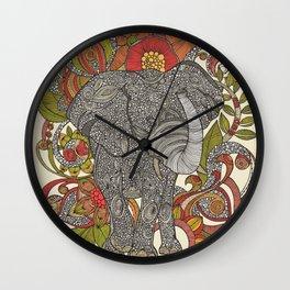 Bo the elephant Wall Clock