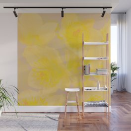 mysterious flowers Wall Mural